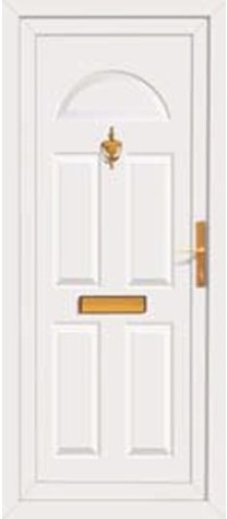 Panel Door Aston 219x500