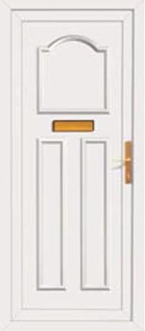 Panel Door Burghley 219x500