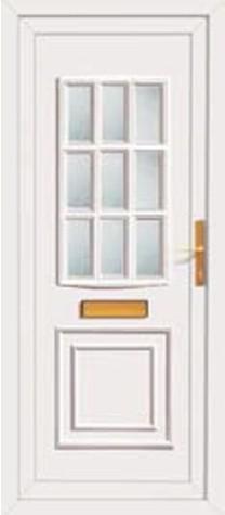Panel Door Burnby 219x500