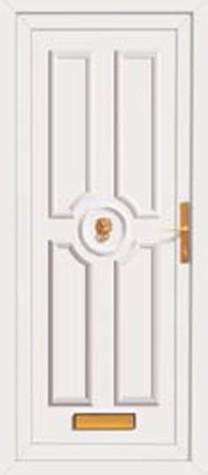 Panel Door Elsham 219x500