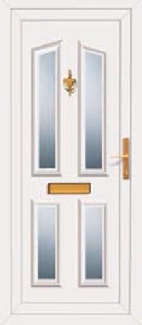 Panel Door Hagley4 219x500