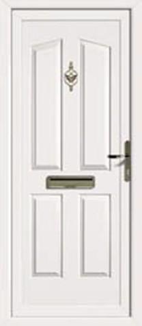 Panel Door Hardford 219x500