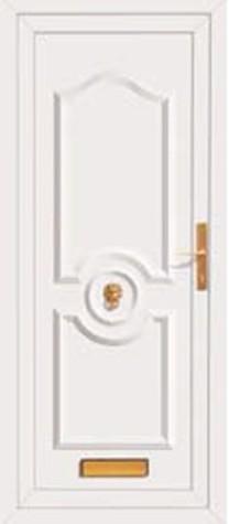 Panel Door Heaton 219x500