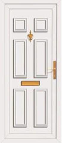 Panel Door Winslow 219x500